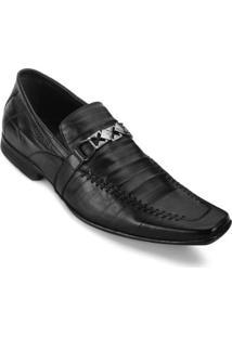 Sapato Masculino Focal Flex 6935 - Masculino-Preto