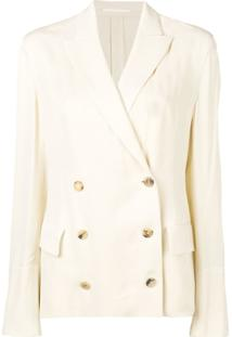 Golden Goose Blazer Angelica - Neutro