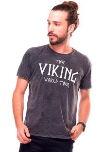 Camiseta Estonada Vikings Liverpool Preto