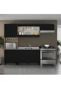 Cozinha Compacta Itamaxi I 9 Pt 1 Gv Preta E Castanho