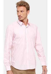 Camisa Social Ellus Clássica Small Masculina - Masculino