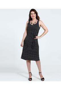 c616b5e545 Vestido Listrado Transparente feminino