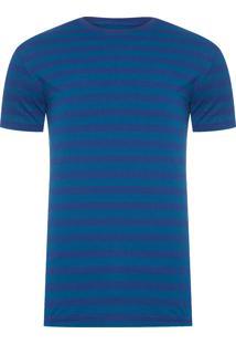 Camiseta Masculina Listra - Azul