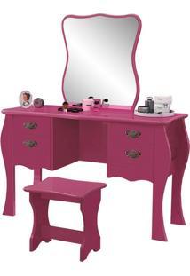 Penteadeira Duda Pink Brilho