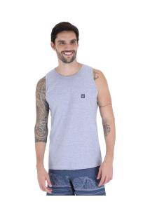 ... Camiseta Regata Hang Loose Basic - Masculina - Cinza Claro a107945d622