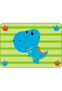 Jogo Americano Infantil Impermeável Verde - Dinossauro - Unik Toys