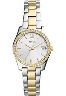 Relógio Analógico Fossil Feminino - Es4319/1Kn Prateado