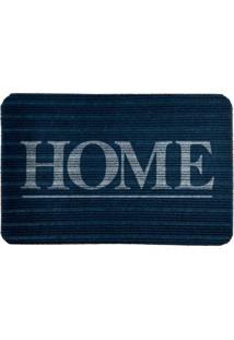 Capacho Carpet Home Azul Único Love Decor