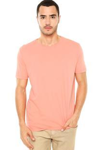 Camiseta Calvin Klein Jeans Lisa Laranja