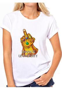 Camiseta Thanos University Feminina - Feminino