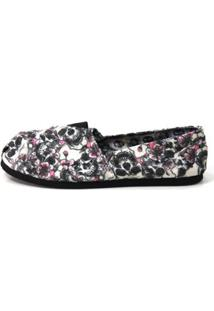 Alpargata Old Is Cool Shoes Inbox Black Feminina - Feminino-Branco+Preto