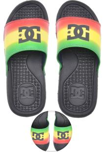 Chinelo Slide Dc Shoes Sp La Preto