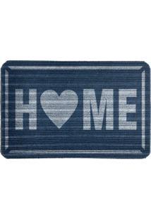 Capacho Carpet Home Azul Único Love Decor