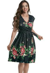 e259511fc Vestido Estampado Suplex feminino