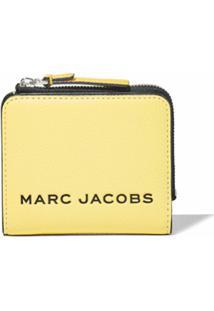 Marc Jacobs Carteira The Bold Color Block Mini Com Zíper - Amarelo