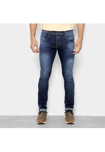 Calça Jeans Skinny Biotipo Estonada Masculina - Masculino-Azul