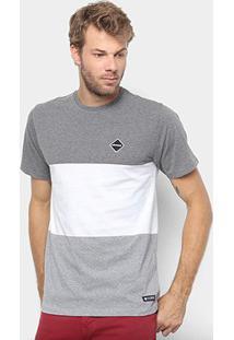 Camiseta Element Felix Masculina - Masculino-Preto+Branco