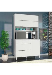 Armário De Cozinha Colúmbia 3 Pt Branco