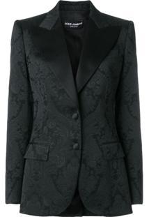 Dolce & Gabbana Blazer Jacquard - Preto