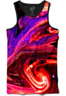 ... Camiseta Regata Long Beach Psicodélica Lava Sublimada Roxo 72e6df0672e
