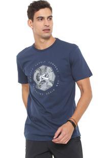 Camiseta Rusty Feer Supply Azul-Marinho