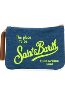 Mc2 Saint Barth Kids Necessaire Com Estampa De Logo - Azul
