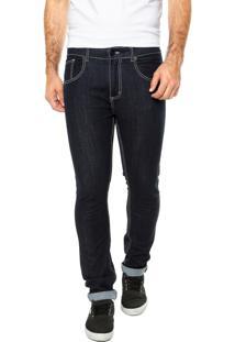 Calça Jeans Quiksilver Gel Azul