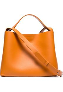 Aesther Ekme Mini Sac Leather Bag - Laranja