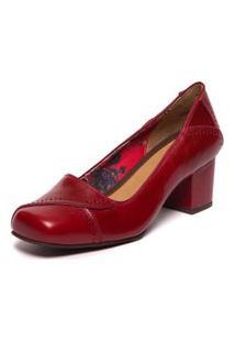 Sapato Brenda Lee - Amora/ Marsala 6007-Bl Mzq
