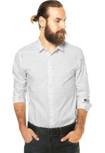 Camisa Calvin Klein Jeans Detalhes Branca