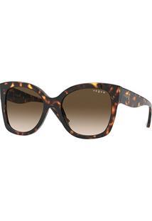 Óculos De Sol Vogue Eyewear 0Vo5338S Feminino - Feminino-Marrom