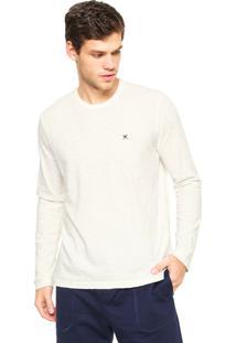 Camiseta Polo Play Lisa Off-White