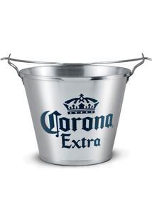 Balde Com Abridor 5L Corona Extra Alumiart