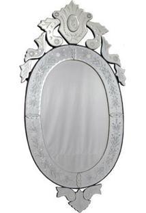 Espelho Veneziano Oval 120X60Cm