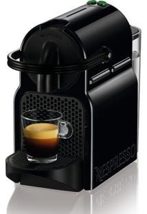 Cafeteira Nespresso Inissia 19 Bar Com Kit De 16 Cápsulas 220V - Preta