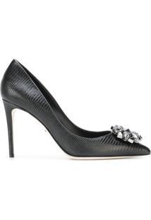 Dolce & Gabbana Scarpin 'Bellucci' De Couro - Preto