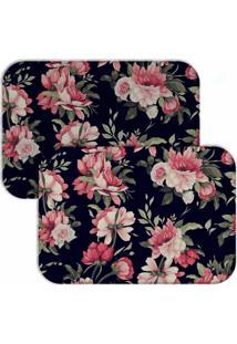 Jogo Americano Love Decor Wevans Split Leaf Floral - Multicolorido - Dafiti