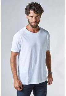 Camiseta Basica Leve Reserva Masculina - Masculino-Branco