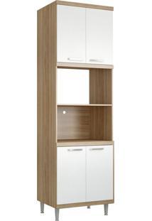 Armário De Cozinha Forno 5120 Cx Arg Branco - Multimóveis