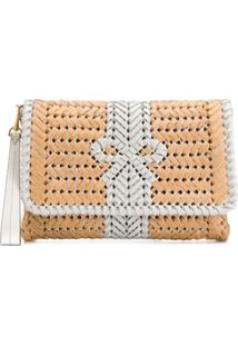 Anya Hindmarch Clutch 'Neeson' - Neutro