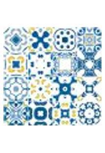 Adesivo De Azulejo - Ladrilho Hidráulico - 381Azge