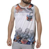 Camiseta Regata Masculina Federal Art Cinza 6afd1f3d4eb