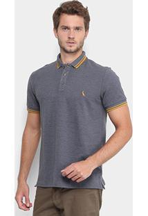 Camisa Polo Reserva Piquet Frisos Masculina - Masculino