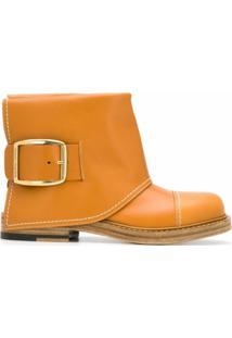 Alexander Mcqueen Ankle Boot - Marrom