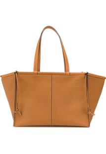 Loewe Cushion Tote Bag - Marrom