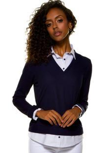 d3655ba9fa Camisa Acinturada Epos feminina