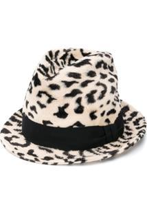Dolce & Gabbana Chapéu Animal Print - Neutro