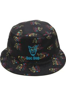 Chapéu Doc Dog Logo Preto