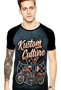 Camiseta Stompy Tattoo Rock Collection 145 Preto