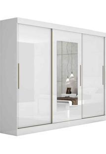 Guarda-Roupa 3 Portas Montebello Com Espelho - Lopas